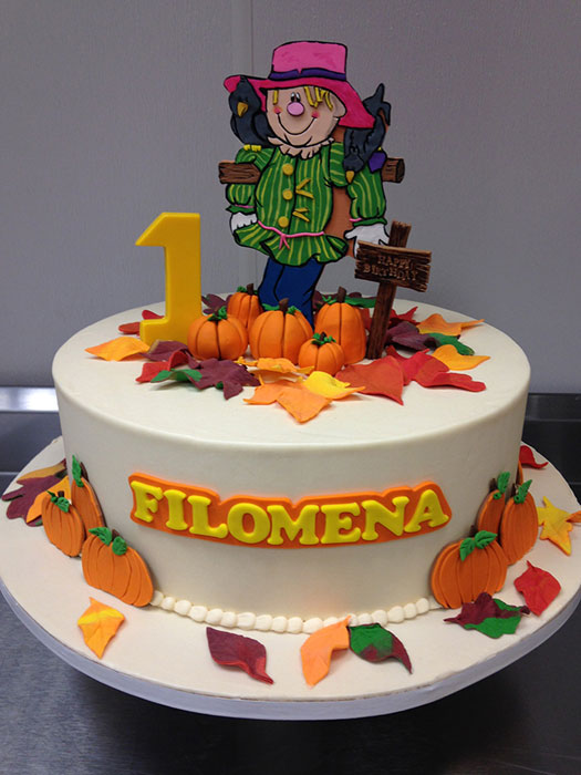 Fall Birthday Cakes For Kids