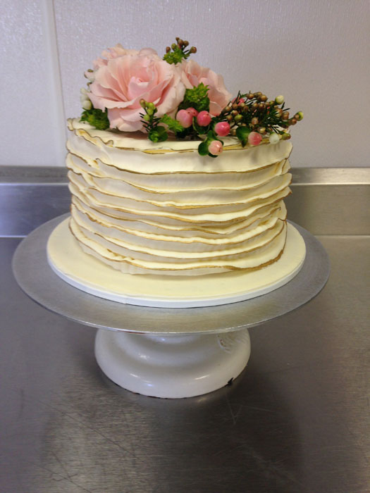 ... Flower Cake   Single Tiered   93 ...