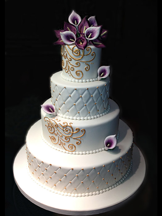 Fondant Wedding Cakes Wonderful Wedding Cakes Long