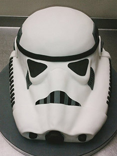 Star Wars Stormtrooper Cake - Grooms & Sports - 7