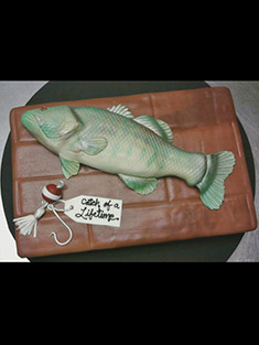 Fisherman's Cake - Grooms & Sports - 8