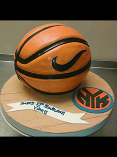 Nike Basketball New York Knicks Cake - Grooms & Sports - 10