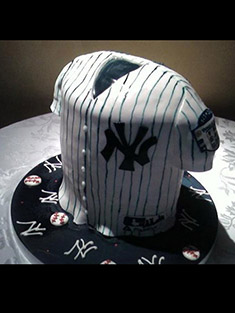 New York Yankees Jersey Cake - Grooms & Sports - 16