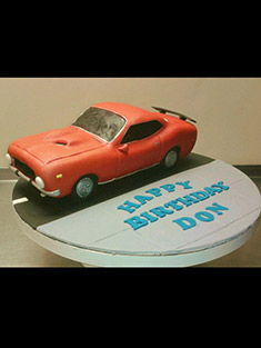 Classic Car Cake - Grooms & Sports - 18