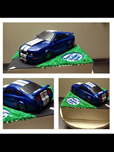 Ford Mustang Cake - Grooms & Sports - 19
