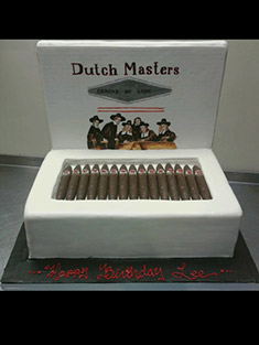 Dutch Masters Cigars Cake - Grooms & Sports - 21