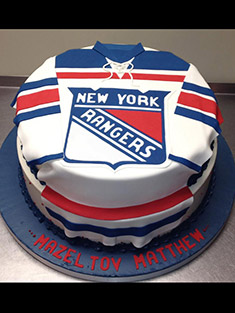New York Rangers Jersey Cake - Grooms & Sports - 28