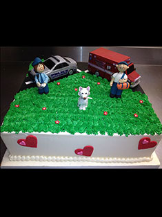 Civil Servant Cake - Grooms & Sports - 35