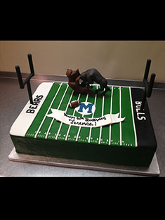 Football Field Cake - Grooms & Sports - 39