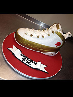 Air Jordan Sneaker Cake - Grooms & Sports - 40