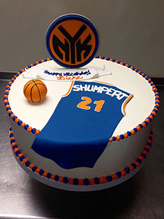 New York Knicks Jersey Cake - Grooms & Sports - 41