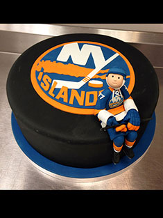 New York Islanders Puck Cake - Grooms & Sports - 45