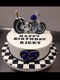 Motorcycle Cake - Grooms & Sports - 49