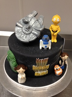Star Wars Birthday Cake - Grooms & Sports - 53
