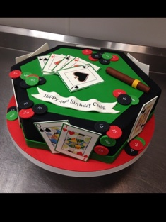 Poker Cake - Grooms & Sports - 58
