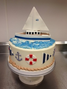 Sailor Cake - Grooms & Sports - 60