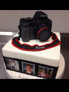 Photography & Camera Cake - Grooms & Sports - 62