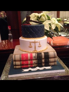 Lawyer Cake - Grooms & Sports - 63