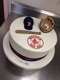 Boston Red Sox Cake - Grooms & Sports - 66