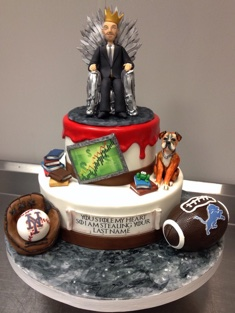 Game of Thrones Cake - Grooms & Sports - 68