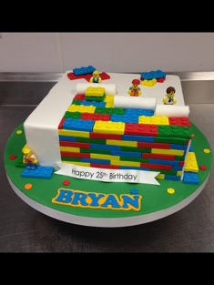 Lego Enthusiast Cake - Grooms & Sports - 70