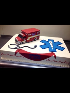 EMS Themed Cake - Grooms & Sports - 81