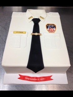 Fire Department Cake - Grooms & Sports - 86