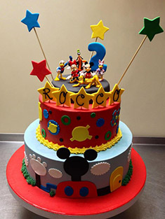 Mickey Mouse Clubhouse Cake - Baby, Kids & Religious Cakes - 6