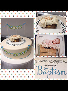 Baptism Cake - Baby, Kids & Religious Cakes - 119