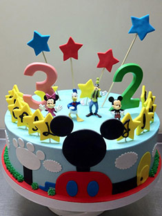 Mickey Mouse Clubhouse Cake - Baby, Kids & Religious Cakes - 12