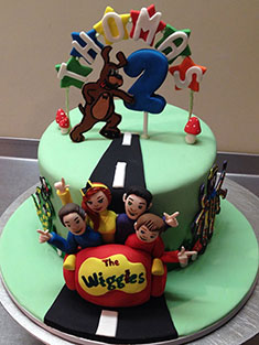 The Wiggles Cake - Baby, Kids & Religious Cakes - 121