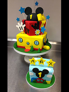 Mickey Mouse Clubhouse Cake - Baby, Kids & Religious Cakes - 135