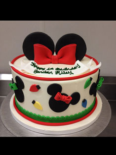 Minnie Mouse Ears - Baby, Kids & Religious Cakes - 147
