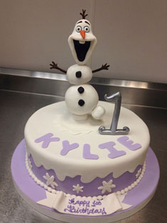 Olaf - Baby, Kids & Religious Cakes - 148