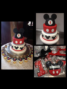 Mickey Mouse - Baby, Kids & Religious Cakes - 149