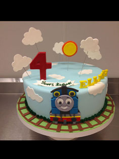 Thomas the Train - Baby, Kids & Religious Cakes - 150