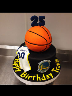 Golden State Warriors - Baby, Kids & Religious Cakes - 162