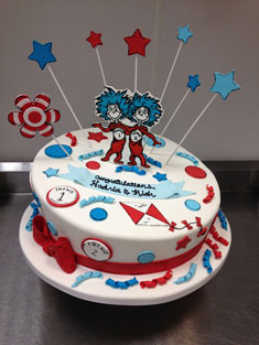 Dr. Suess - Baby, Kids & Religious Cakes - 163