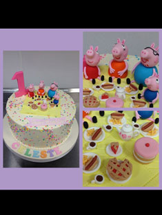 Peppa Pig - Baby, Kids & Religious Cakes - 164