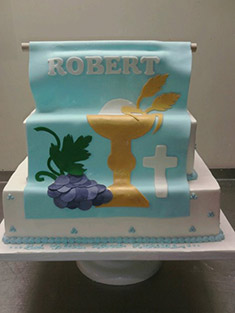 First Communion Cake - Baby, Kids & Religious Cakes - 18