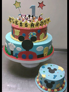 Mickey Mouse Clubhouse Cake - Baby, Kids & Religious Cakes - 23