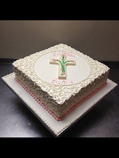 Detailed God Bless Religious Cake - Baby, Kids & Religious Cakes - 92