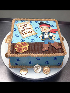 Jake and the Neverland Pirates Cake - Baby, Kids & Religious Cakes - 94