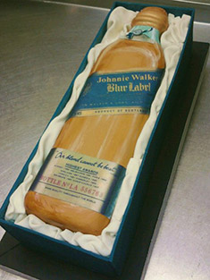 Johnny Walker Blue Cake - Shaped Cakes - 5