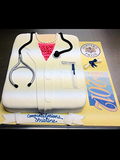 Female Doctor Cake - Shaped Cakes - 7