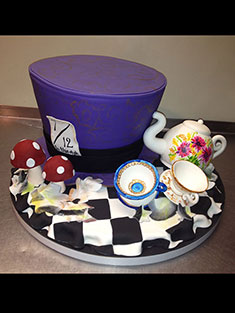 Mad Hatter Cake - Shaped - 103