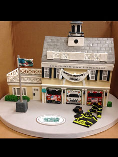Locust Valley Fire House Cake - Shaped - 107