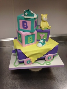 Baby Blocks Cake - Shaped - 118