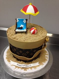 Beach Cake - Shaped - 120