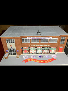 Glen Cove Fire Department Cake - Shaped Cakes - 41